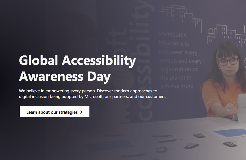 Microsoft Global Accessibility Day with Adaptive Controller