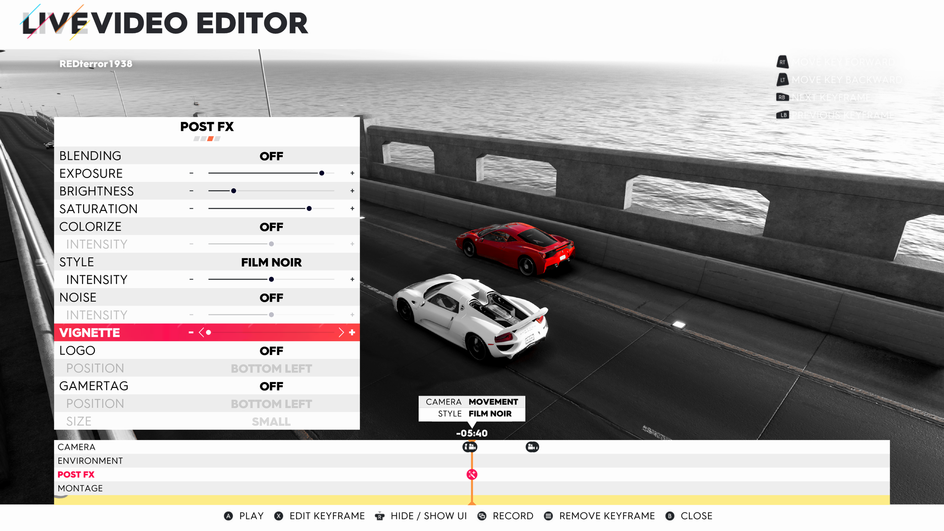 The Crew 2 Live Video Editor