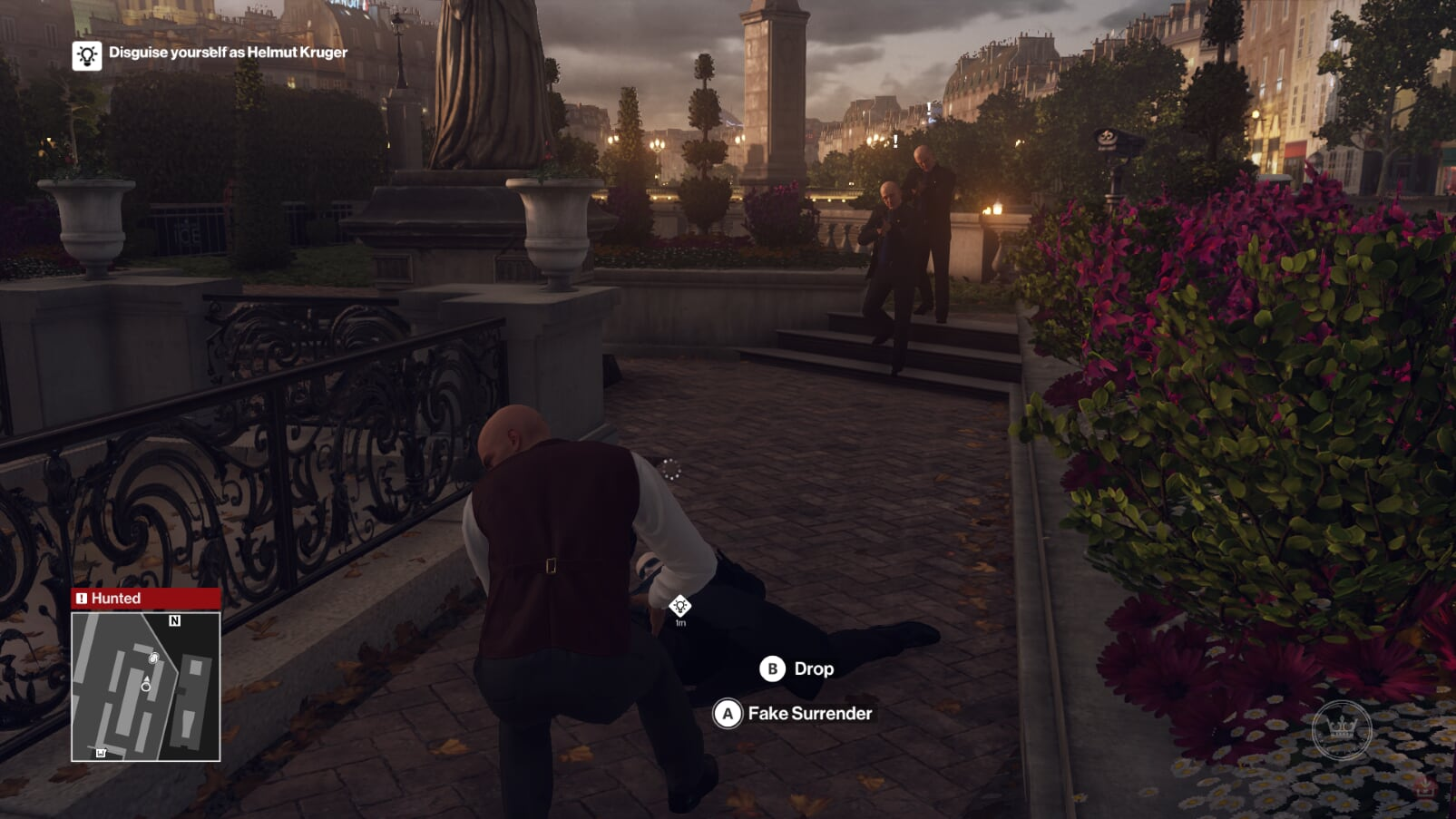 HITMAN: Definitive Edition Choke Out