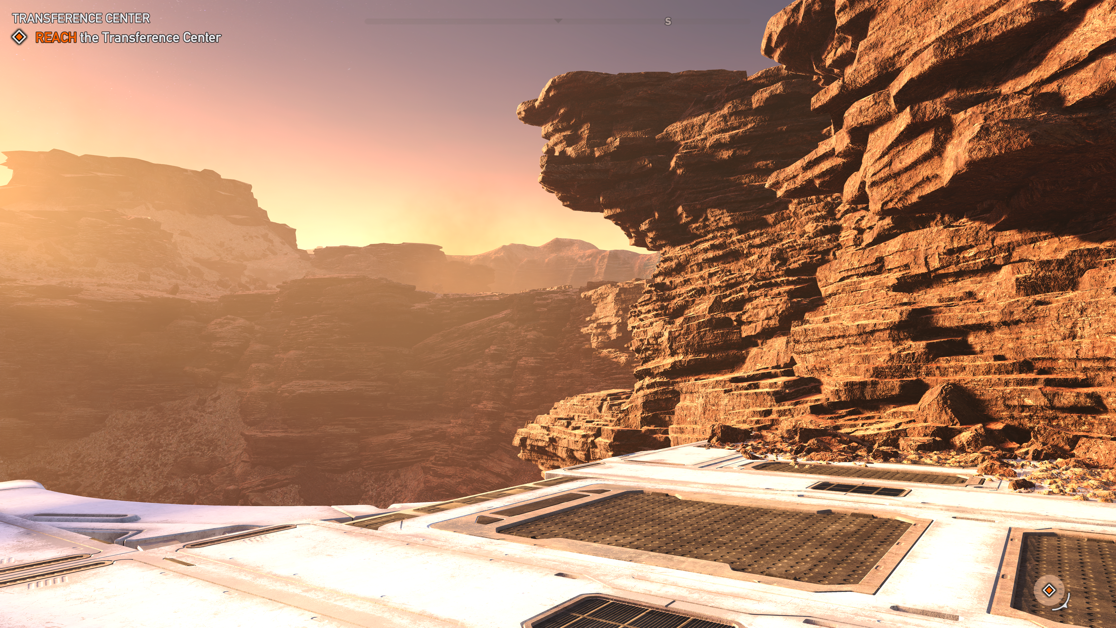 Lost on Mars Landscape