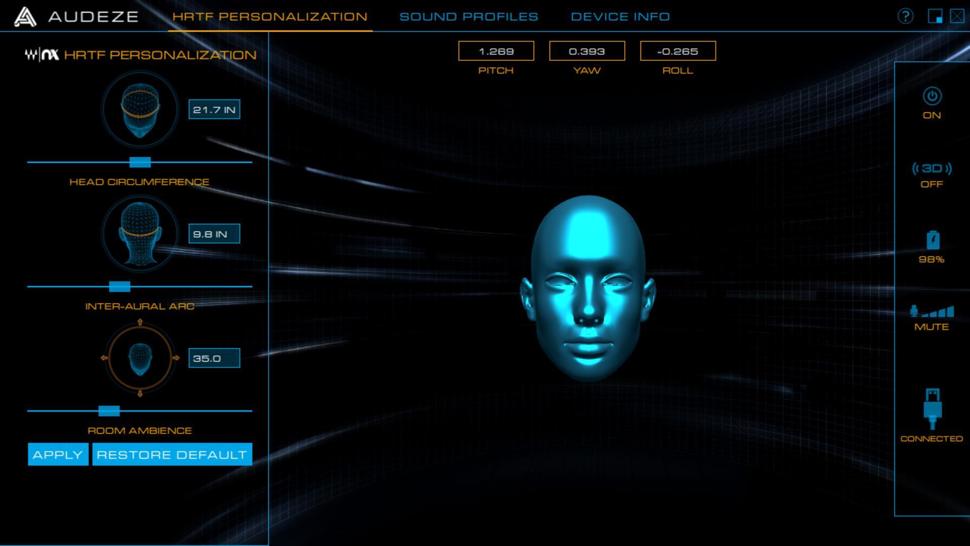 Audeze Mobius 3D