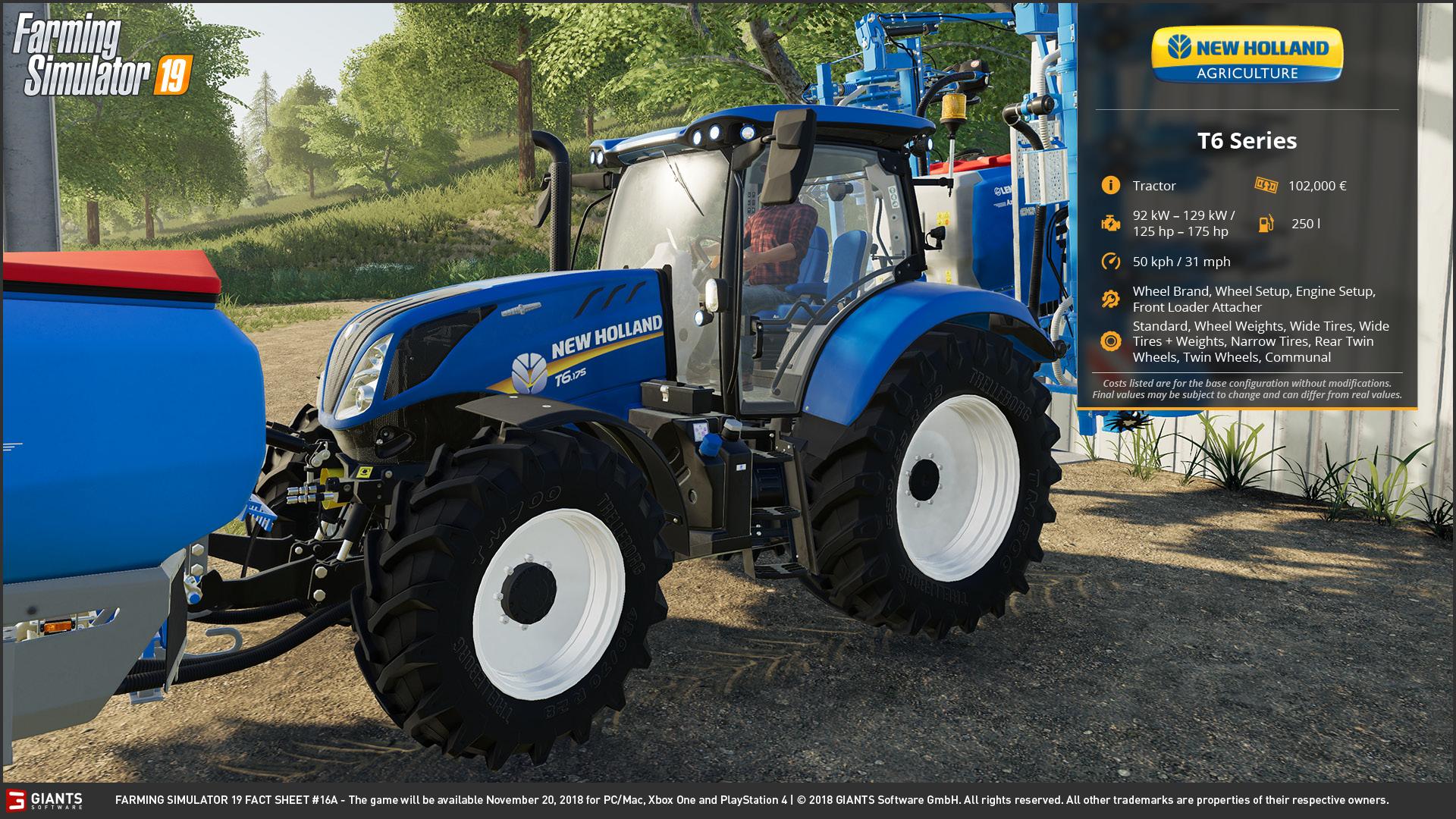 Farming Simulator 19: Fact Sheets #14, 15, 16 & 17