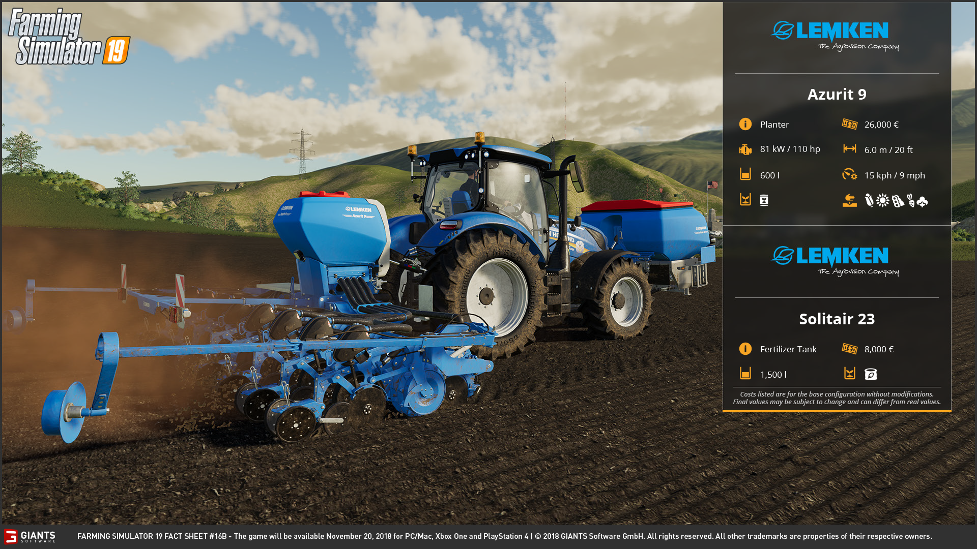 Farming Simulator 19: Fact Sheets #14, 15, 16 & 17 | Scholarly Gamers