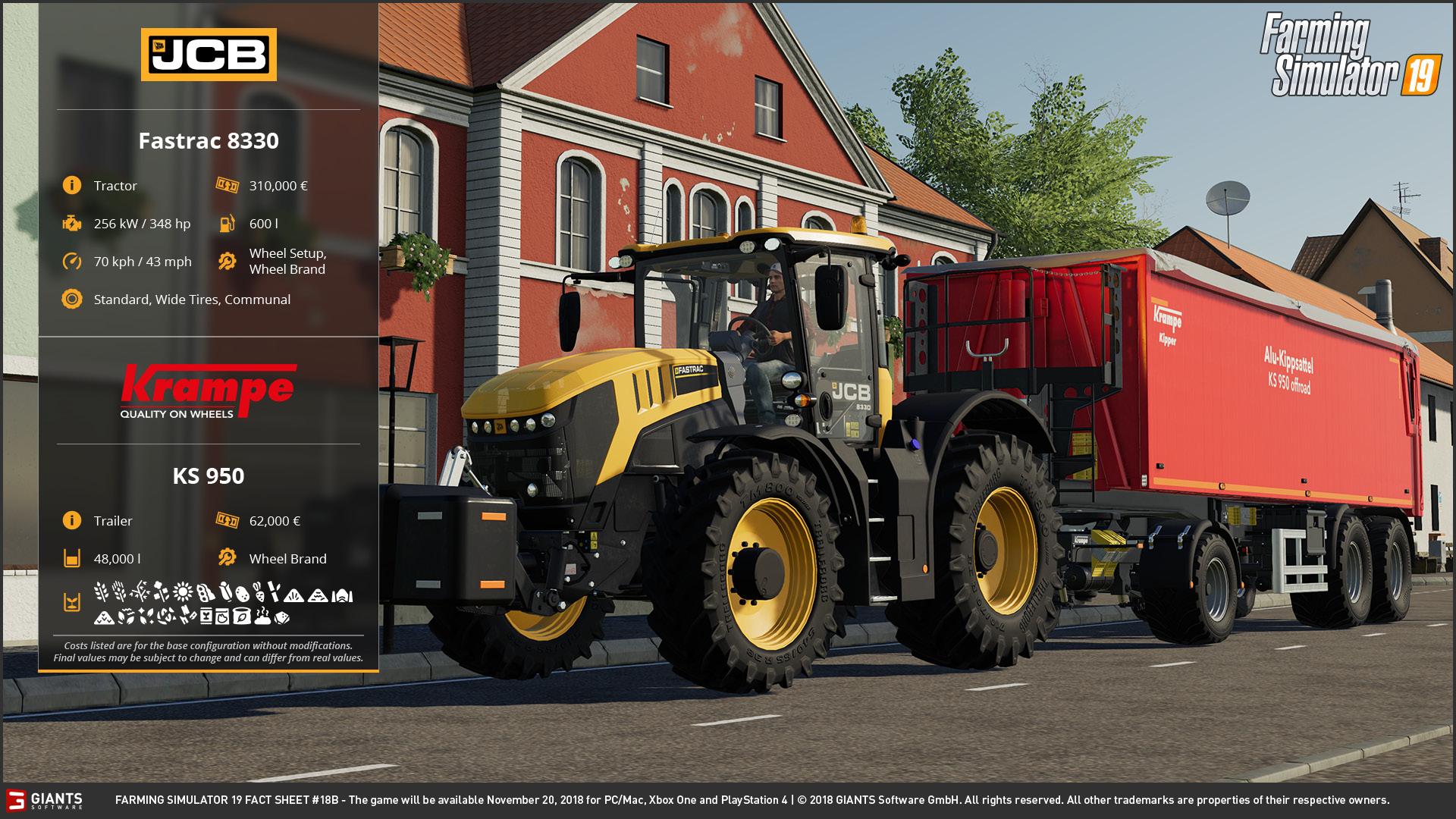 Farming Simulator 19: Fact Sheets #18, 19 & 20 | Scholarly Gamers