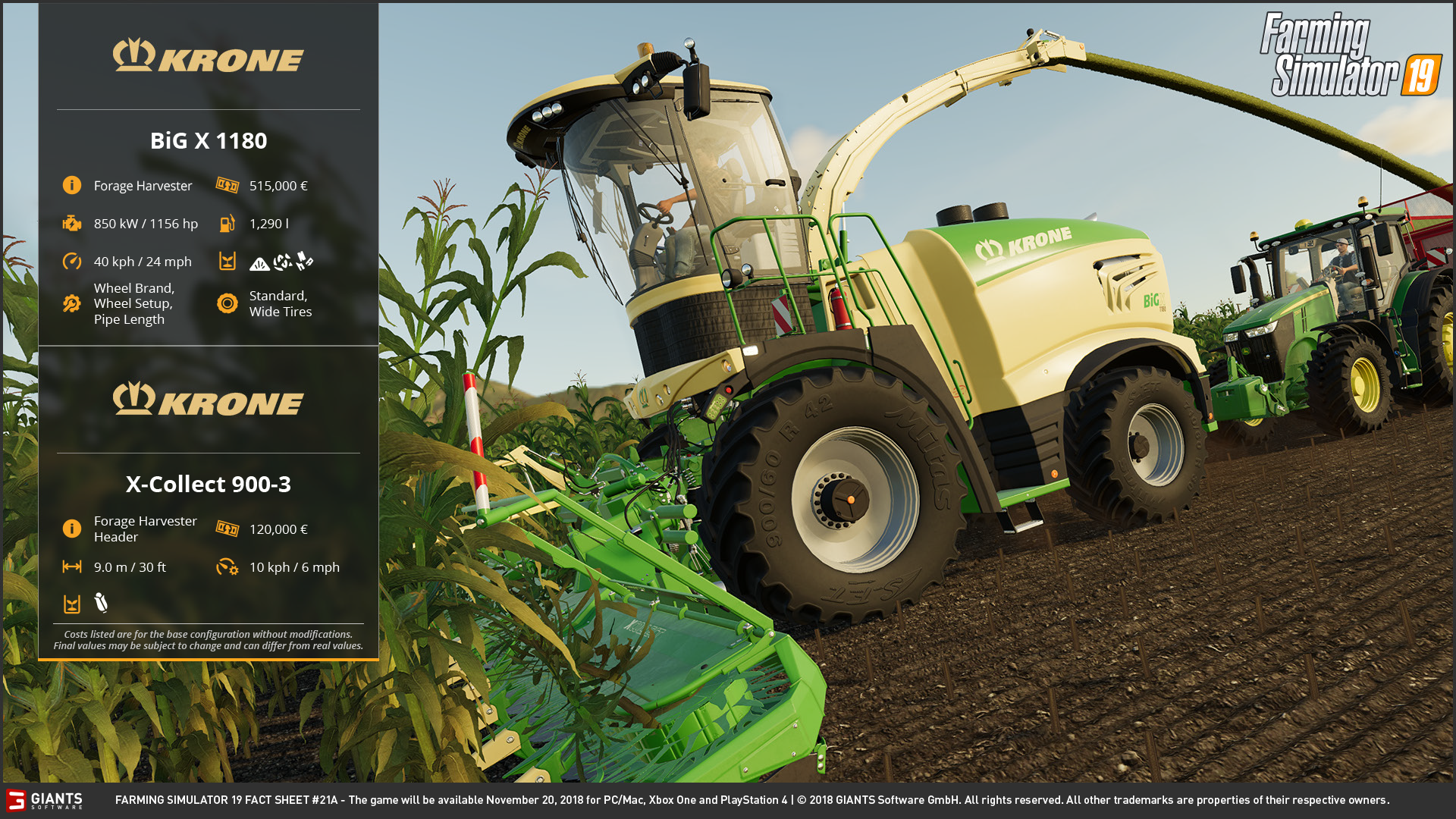 Farming Simulator 19: Fact Sheets #21 & 22 | Scholarly Gamers