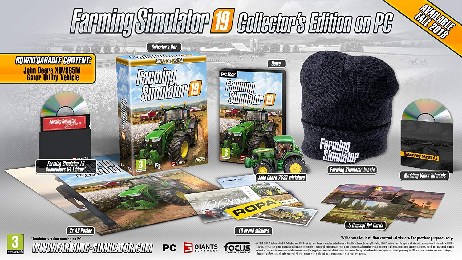 farming simulator 19 day one edition review