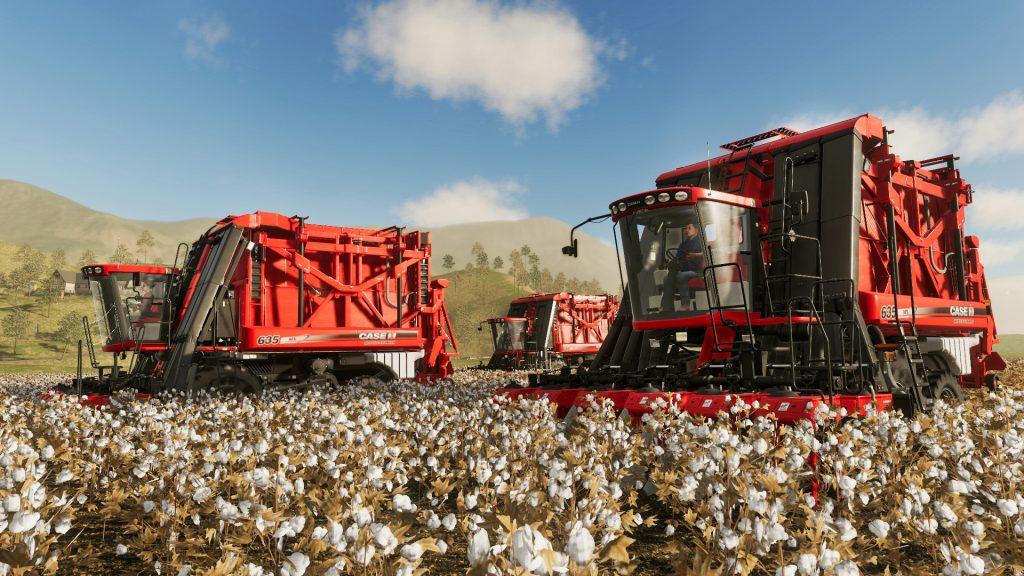 Farming Simulator 19 Cotton