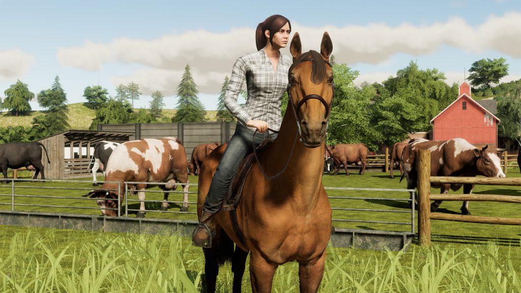 Farming Simulator Horses