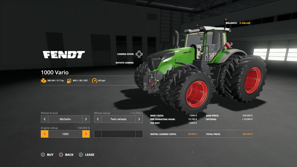 Farming Simulator 19 Fendt