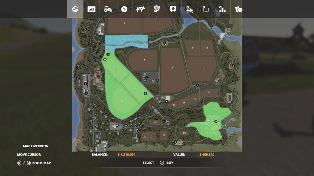 Farming Simulator 19 Map