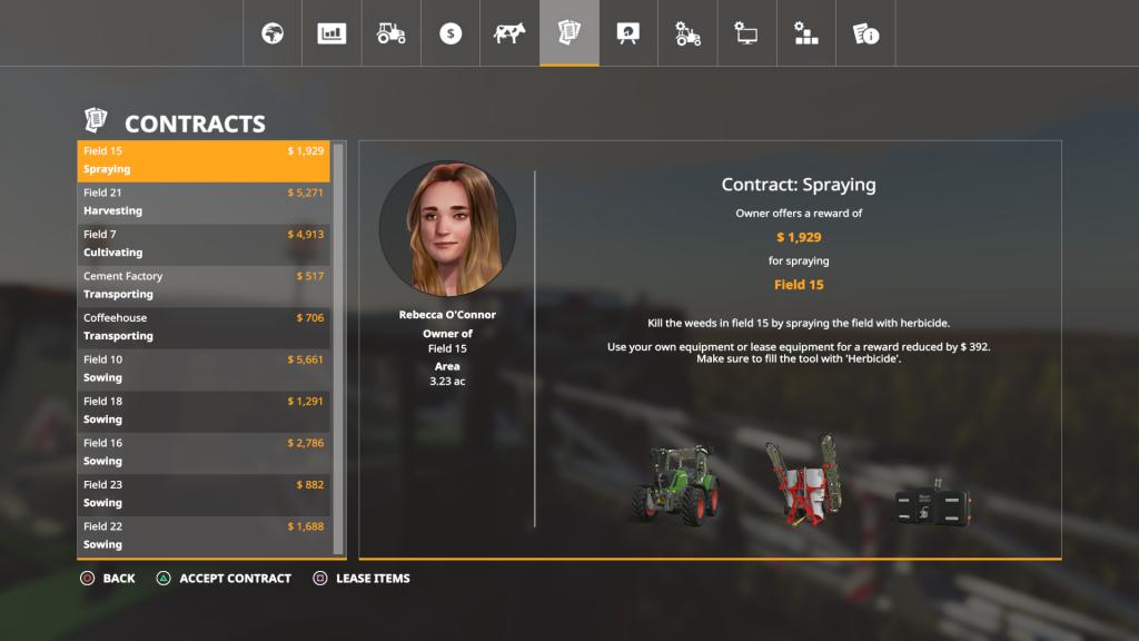 Farming Simulator Contracts