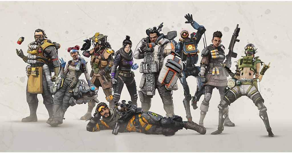 APEX Legends Launch Key Art