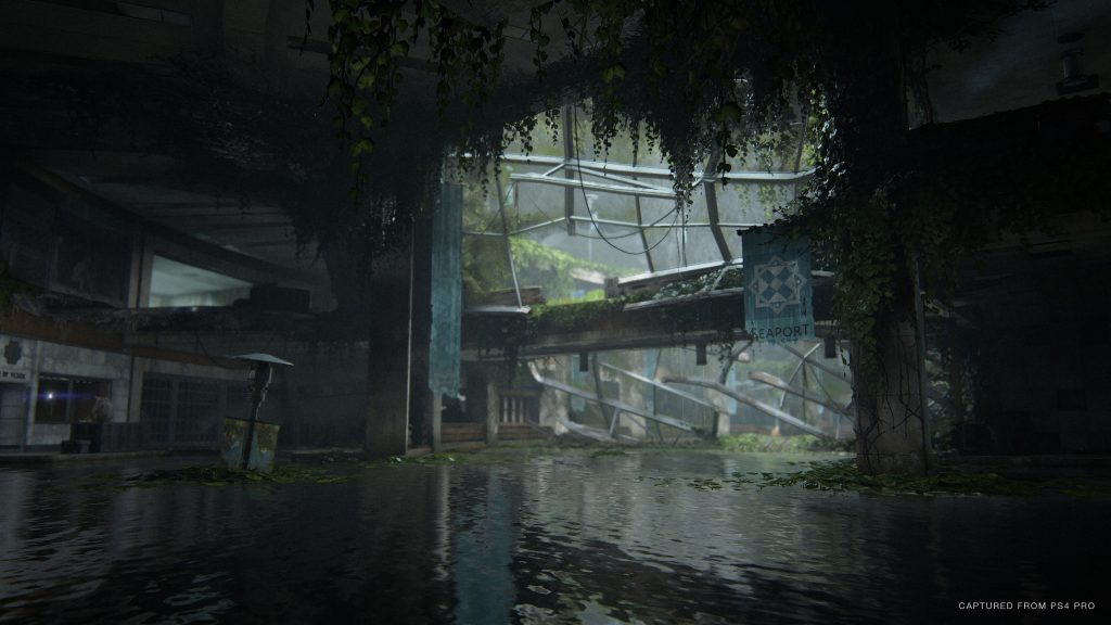 The Last of Us Part II Environment