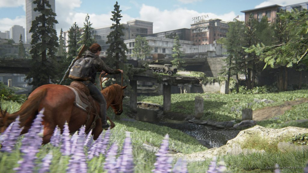 The Last of Us Part II Horse