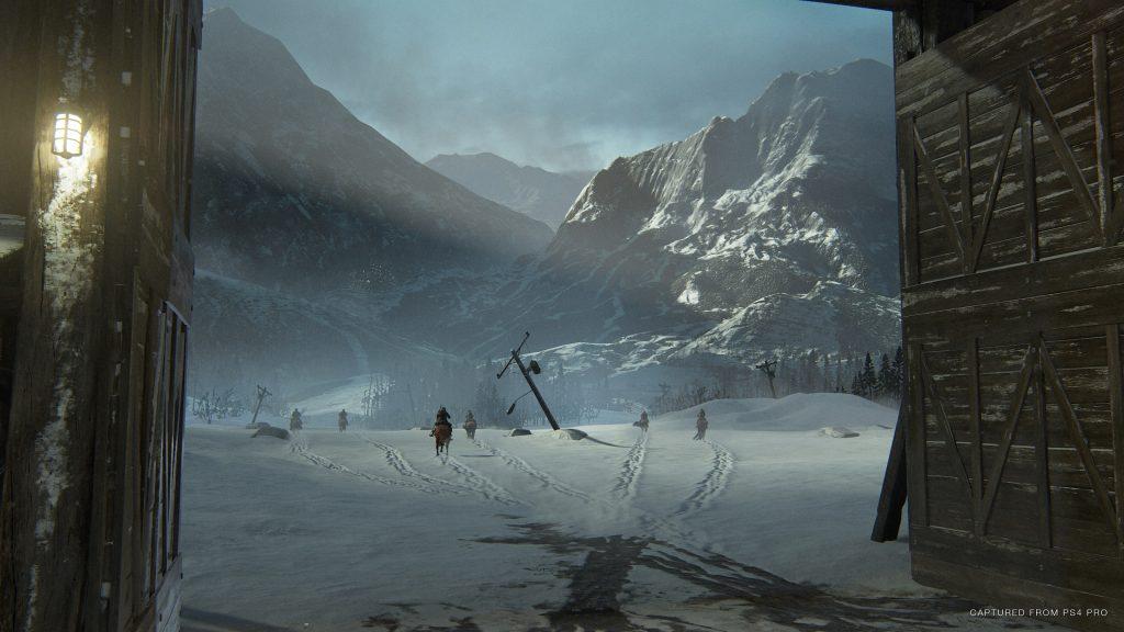The Last of Us Part II Snow