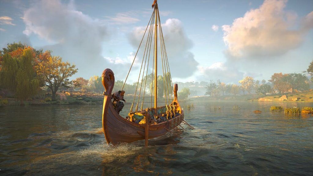 Assassin's Creed Valhalla Longboat