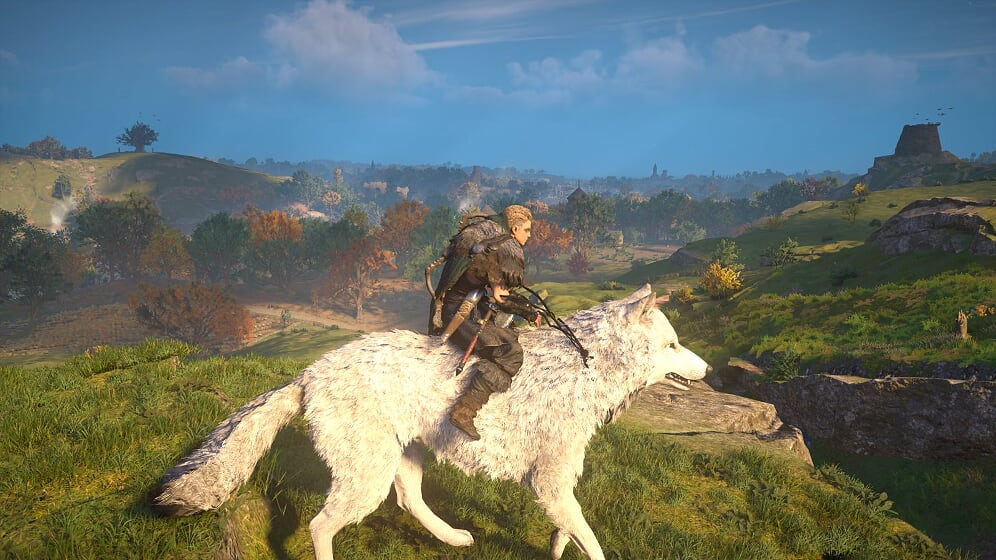Assassin's Creed Valhalla Wolf
